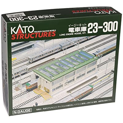 Kato N Scale Unitrack Long Engine House: Toys & Games