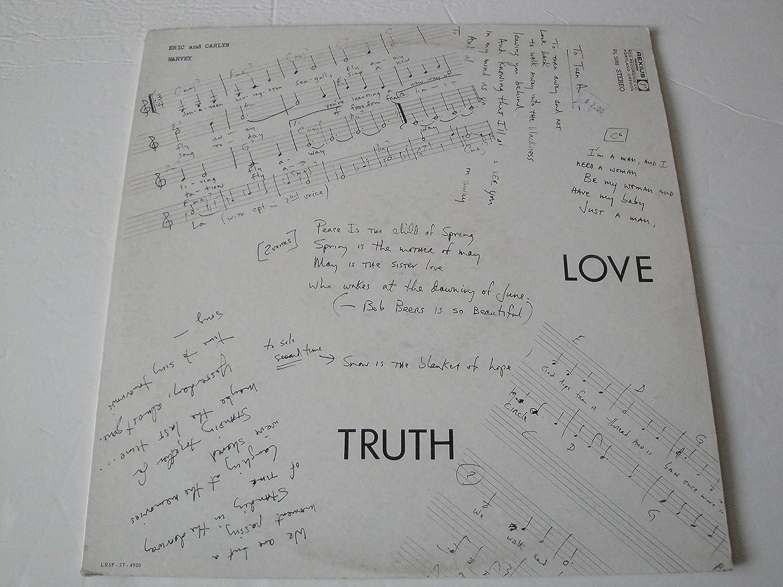 ERIC and CARLYN HARVEY - ERIC AND CARLYN HARVEY Love Truth LP 1973