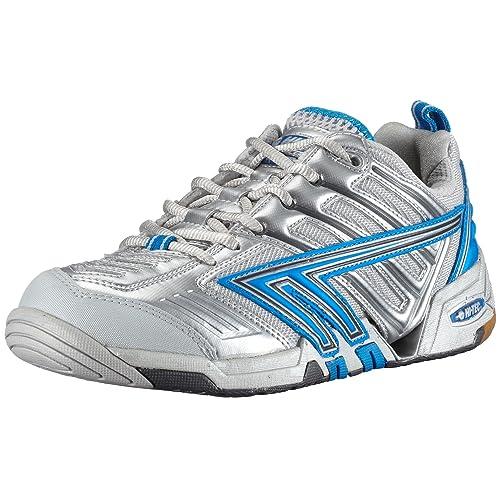 Hi Tec - Zapatillas de squash para mujer, color plateado, talla 37.5: Amazon.es: Zapatos y complementos
