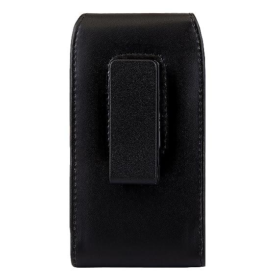 Amazon.com: Funda de piel vertical para smartphone ...