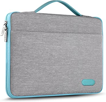 Waterproof Notebook Computer Bag-Light and Comfortable Tablet Briefcase-Band Zipper Portable Handbag Iron Man 13-Inch to 15-Inch Laptop Sleeve Case
