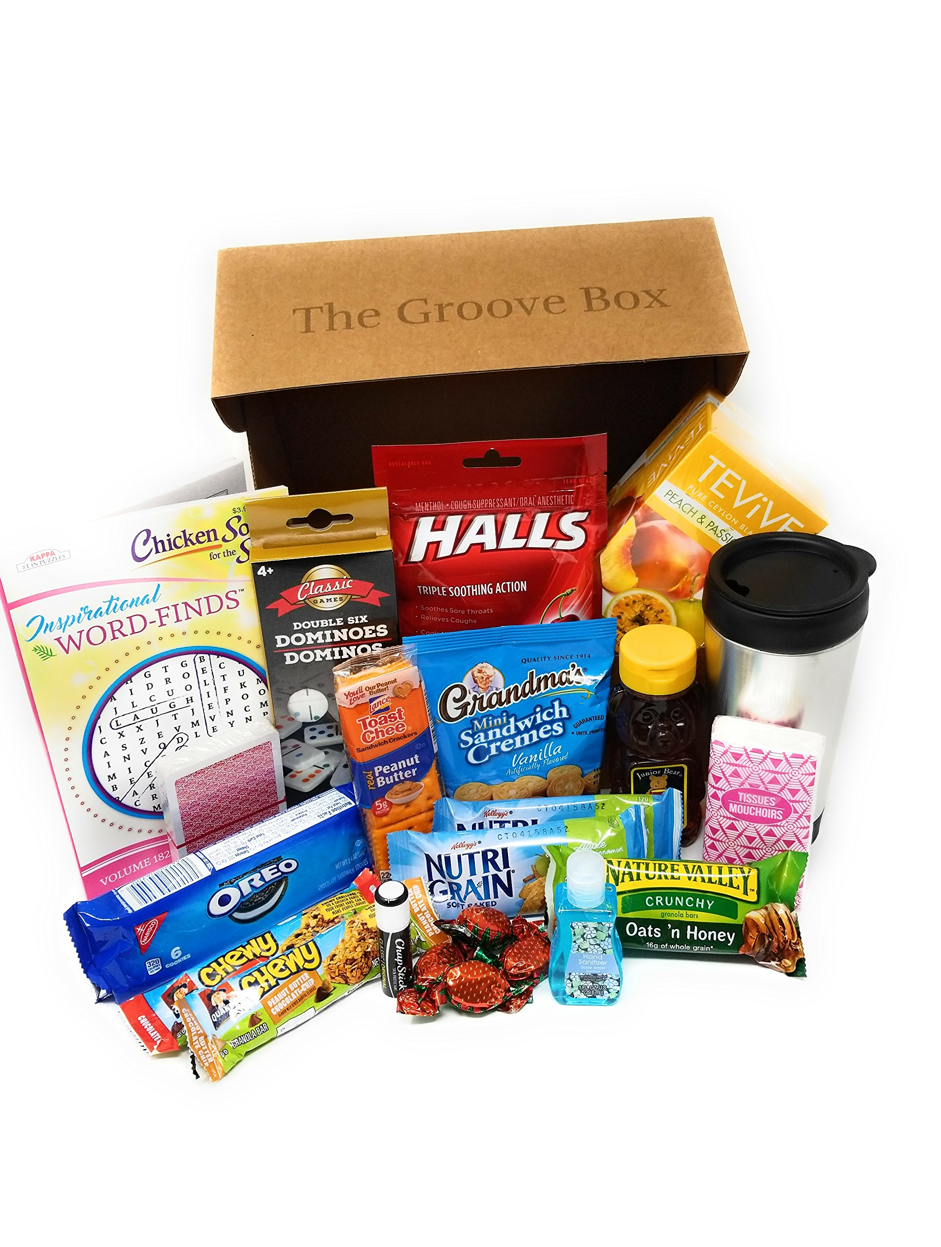 The Groovy Get Well Care Package - Send Care and Concern - Feel Better Soon Gift Basket by Groovy Get Well Box (Image #4)