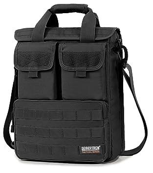 Waterproof Messenger Bag >> Amazon Com Seibertron Expandable 14 Laptop Waterproof Messenger