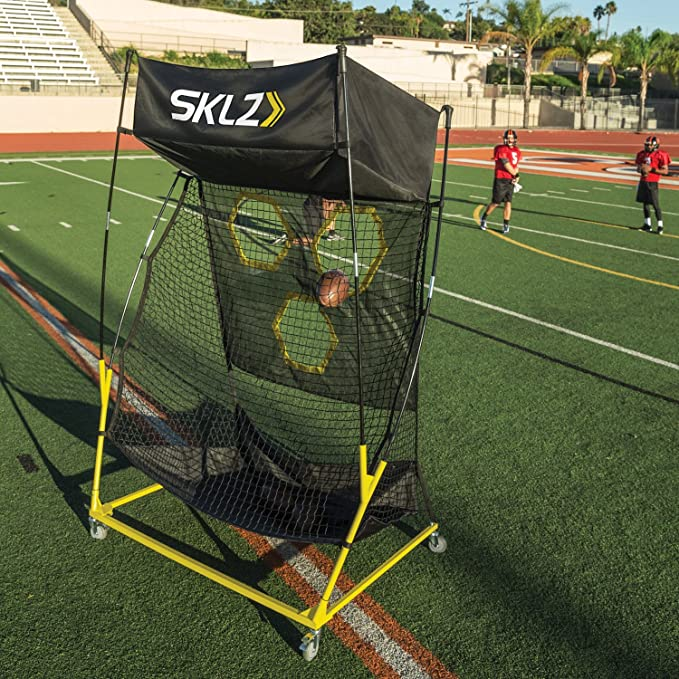 Amazon.com: SKLZ QB Trainer Pro Portable Passing Trainer ...