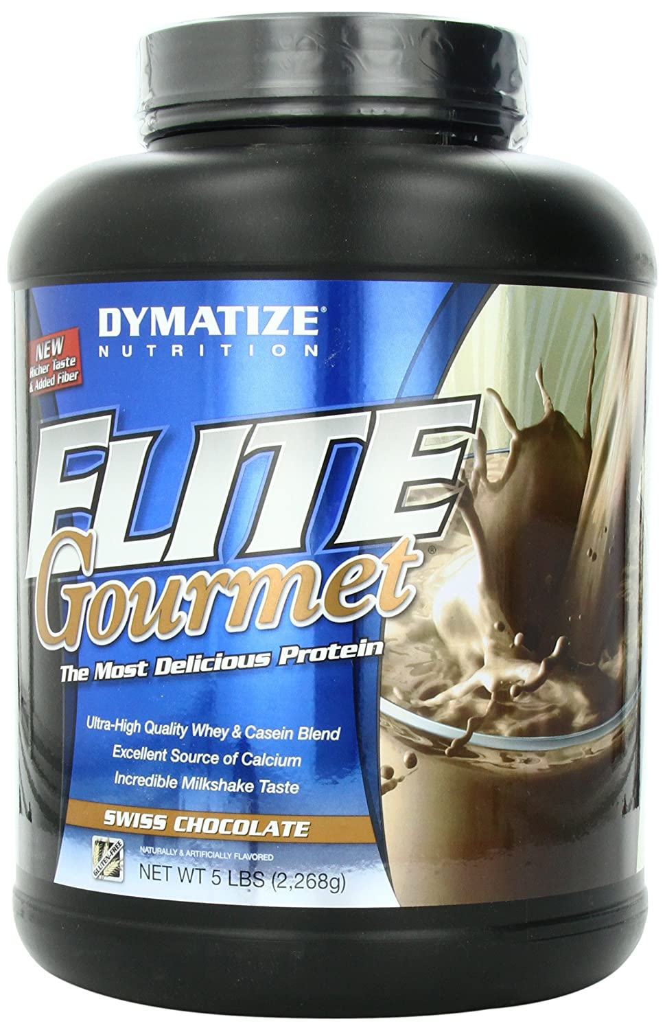 Amazon.com: Dymatize Elite Gourmet 100% Whey Sustained Release ...