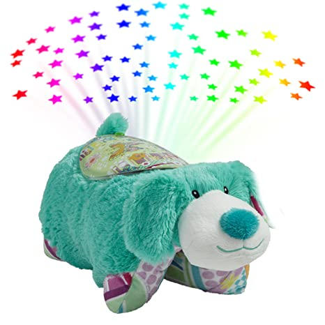 Amazon.com: Almohada mascotas colorido azul cachorro Animal ...