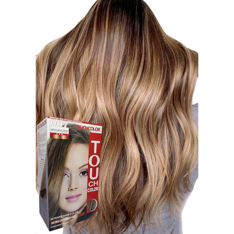 Amazon.com : Touchcolor Hair Color Medium Blonde 11ml, Hair color