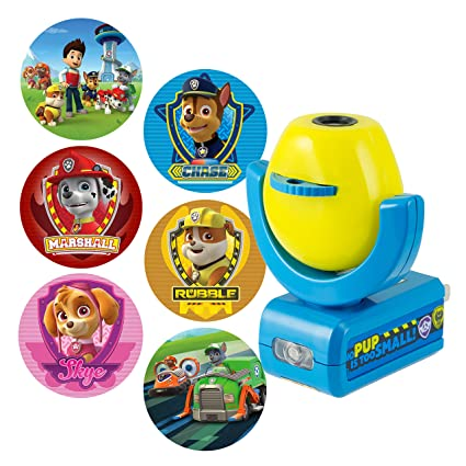 Amazon.com  Projectables 30605 Paw Patrol 6-Image LED Plug-In Night ... 839a9c7d0c0a