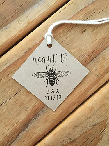 Amazon Meant To Be Honey Wedding Favor Tags Handmade