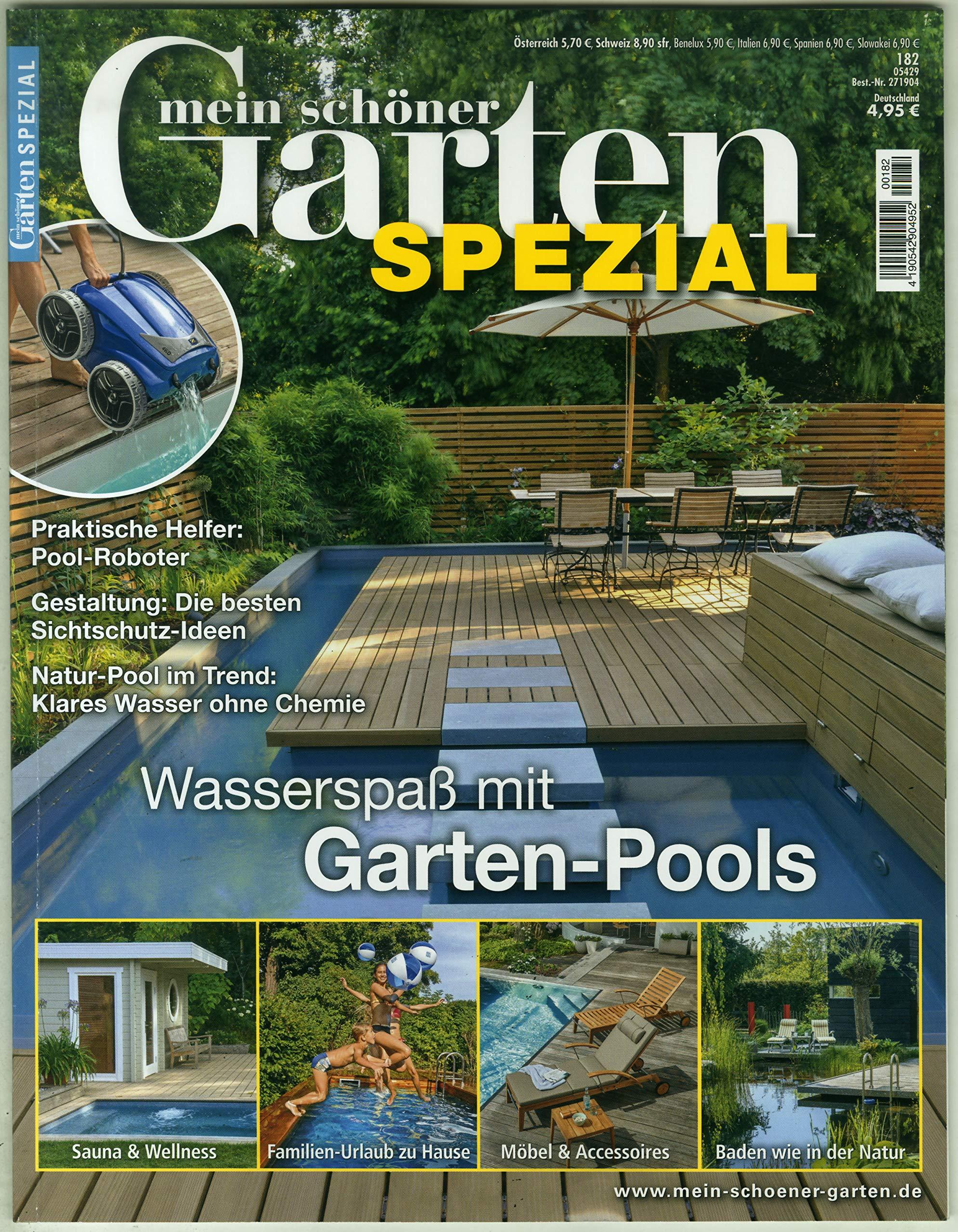 Mein Schoner Garten Spezial 182 2019 Garten Pools Amazon De Mein Schoner Garten Spezial Bucher