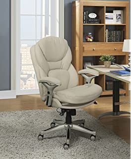 Awe Inspiring Amazon Com Serta Smart Layers Verona Manager Chair Ivory Pabps2019 Chair Design Images Pabps2019Com