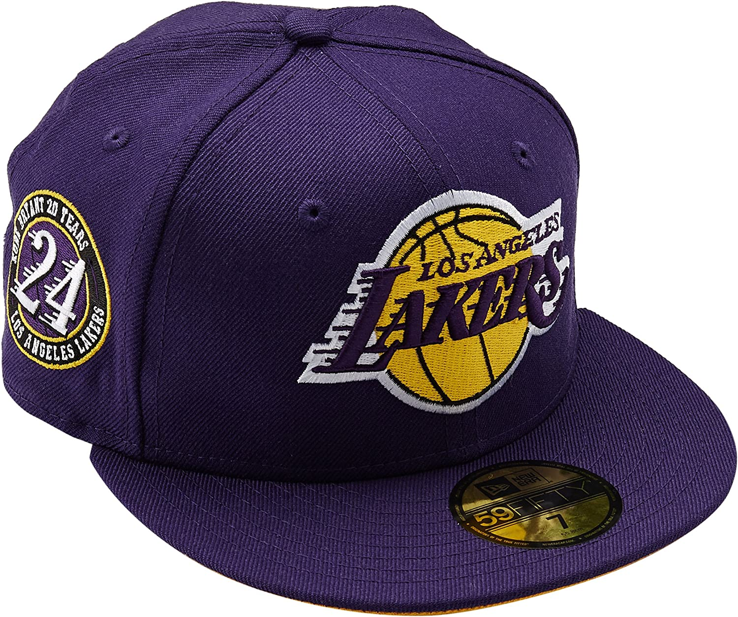 presenting release info on release date: Amazon.com : New Era 59Fifty NBA Hat Los Angeles Lakers Kobe ...