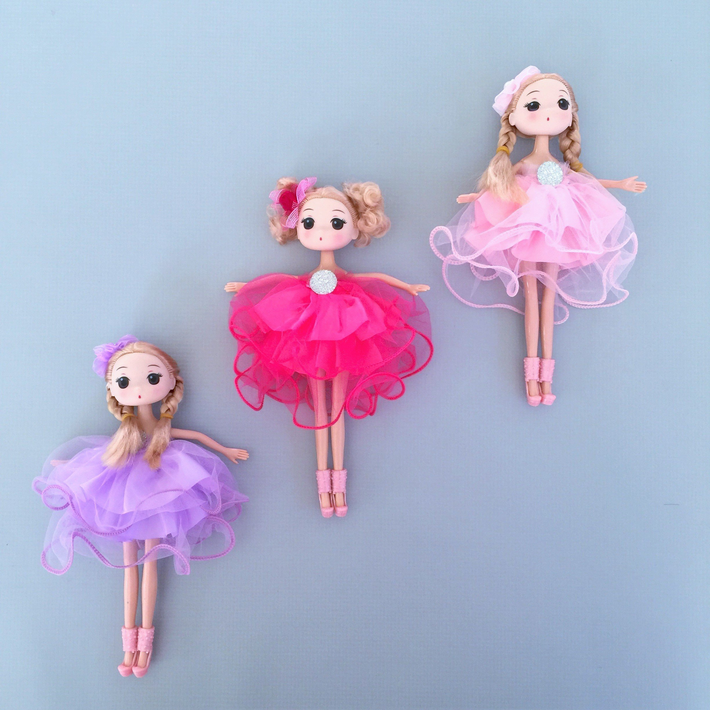 Ballerina Princess Doll Pack N Play Gift Set