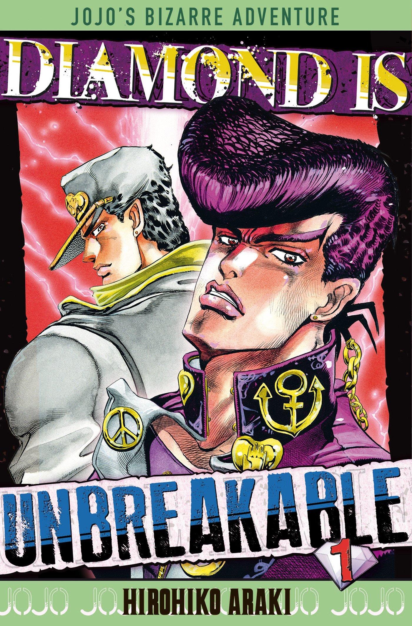 Diamond Is Unbreakable Jojo S Bizarre Adventure T1 Shonen
