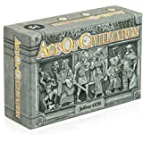 ICE MAKES Age of Civilization Strategy Card Game, Board Games, Pocket, Travel and Family Friendly 1-4 Players Board Game Adve
