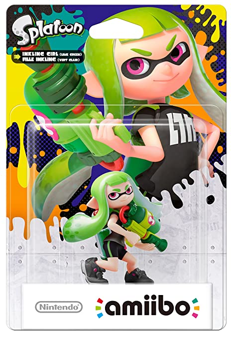 245 opinioni per Amiibo Ragazza Inkling, Verde Limetta- Splatoon Collection