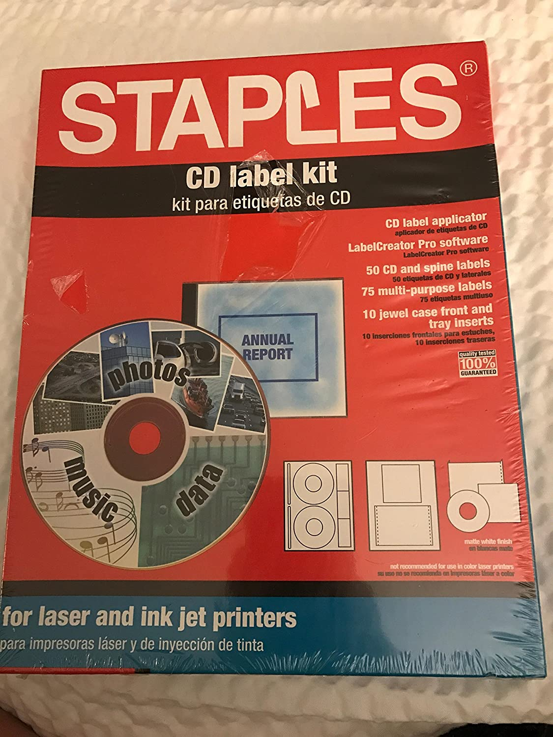 Staples CD Label Kit
