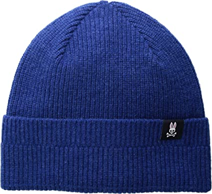 80373e296df Psycho Bunny Men s Watchman Winter Hat Aegean One Size at Amazon ...