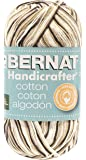 Bernat Handicrafter Cotton Yarn, Ombre, 12 Ounce, Chocolate, Single Ball
