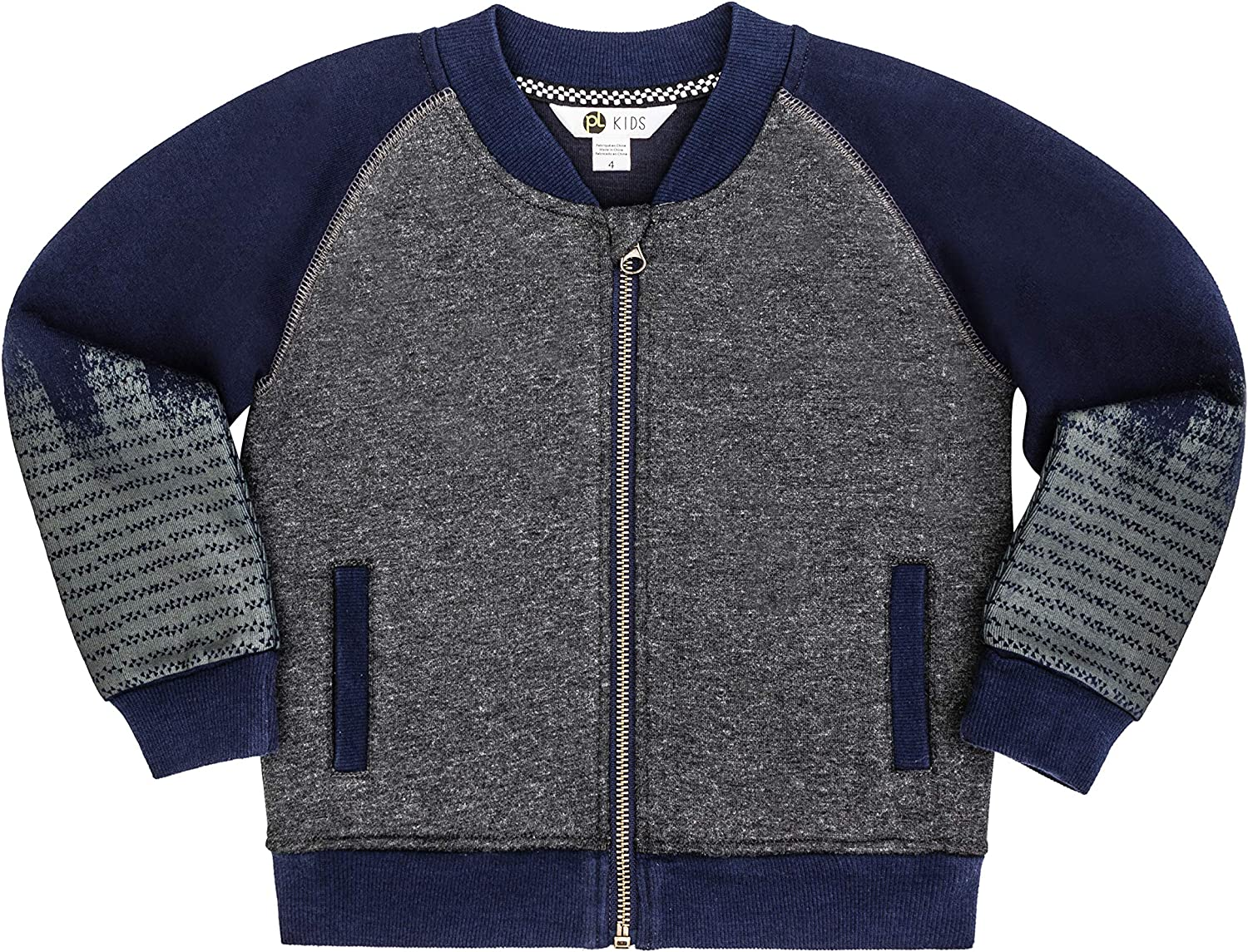 Petit Lem Big Hooded Sweater Top for Boys Comfortable and Stylish