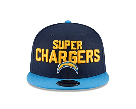 sneakers for cheap 77f47 710af New Era Los Angeles Chargers 2018 NFL Draft Spotlight Snapback 9Fifty  Adjustable Hat