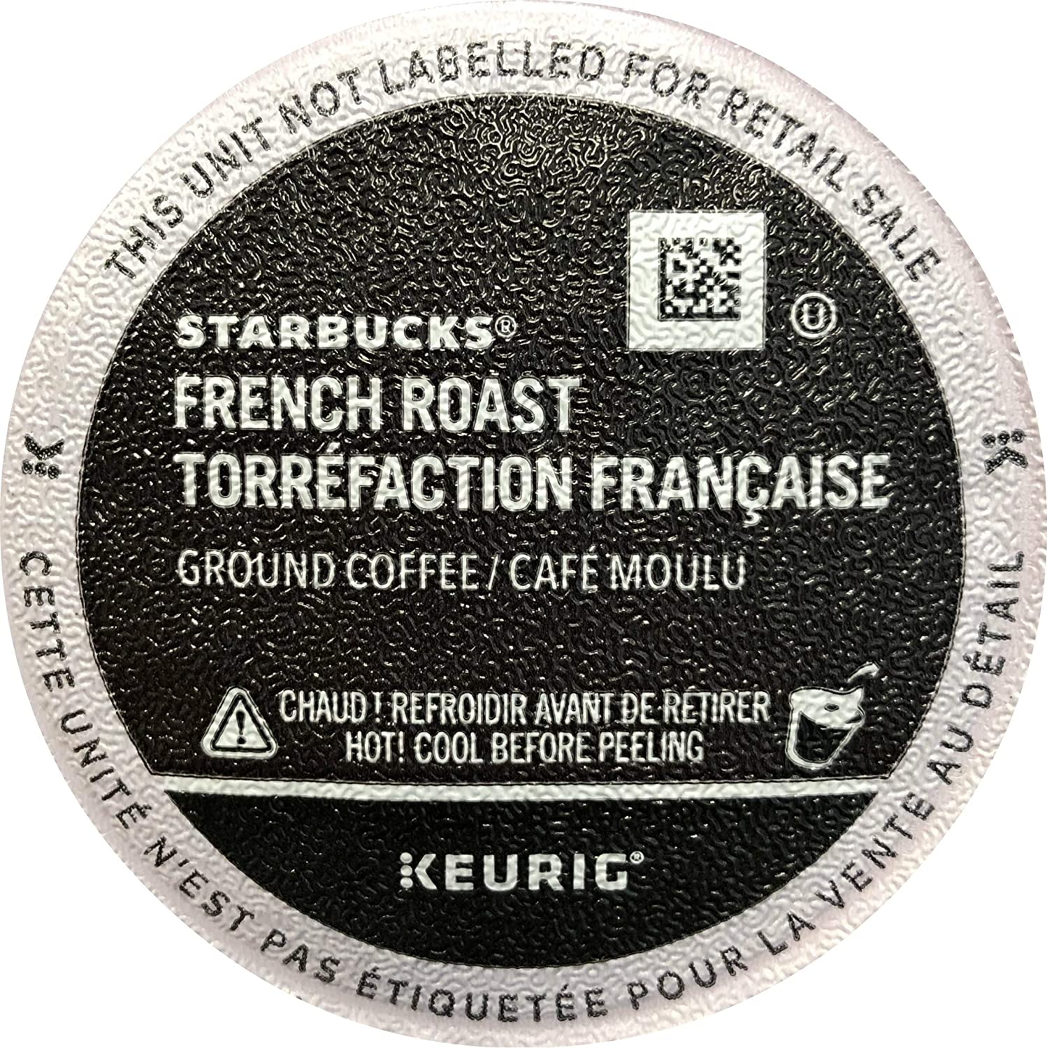 Starbucks French Roast Coffee K-Cup Portion Packs for Keurig Brewers, 72 Count (3 boxes of 24 K-Cups) - Packaging May Vary