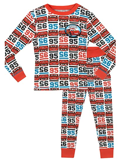 Disney Cars Boys Lightning McQueen Cars Pajamas Size 24M