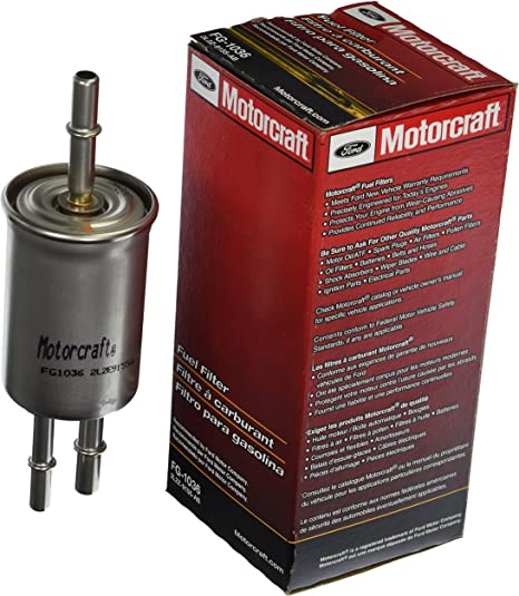 Amazon.com: Motorcraft FG-1036 - Filtro de combustible ...
