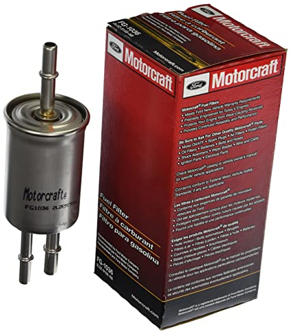 Amazon Com Motorcraft Fg 1036 Filter Assy Fuel Automotive