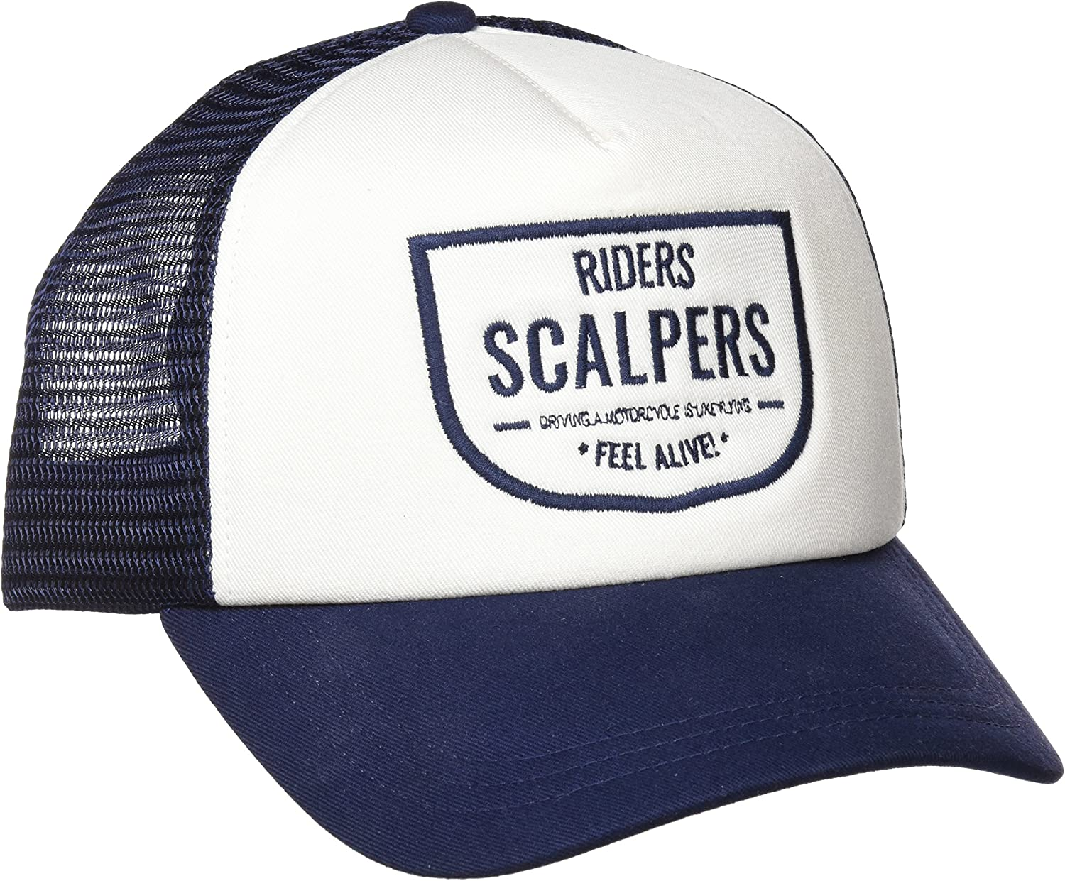 Scalpers Trucker Cap 04:White Gorra, UNICA para Hombre: Amazon.es ...
