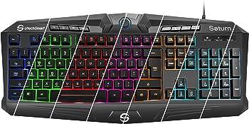 UtechSmart Saturn RGB Visual Effect Wired Gaming Keyboard