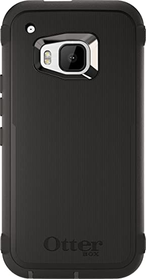 super popular 4b94d 8e0b8 OtterBox Defender Case for HTC One M9 - Retail Packaging - Black  (Black/Black)