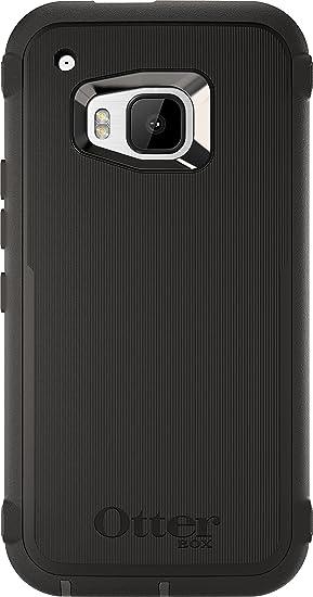 super popular c2bcf 8b309 OtterBox Defender Case for HTC One M9 - Retail Packaging - Black  (Black/Black)