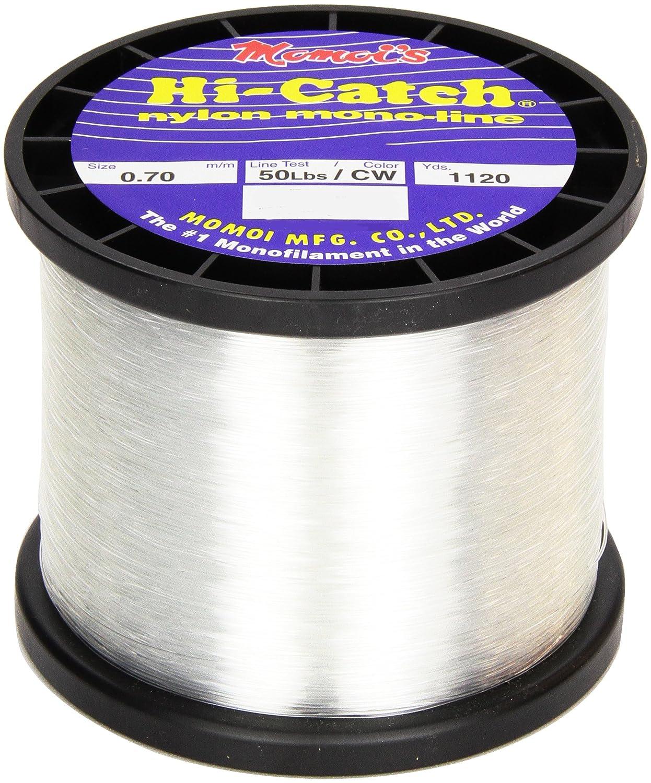 高質で安価 Momoi Mono hi-catch Momoi hi-catch 50-pound 1120-yardクリアホワイトライン、1-pound Mono B00AU5SZLQ, JUNO ジュノー(インテリア雑貨):471b4f4c --- a0267596.xsph.ru