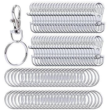 Amazon.com: Livder - Cordón giratorio de metal con cierre de ...