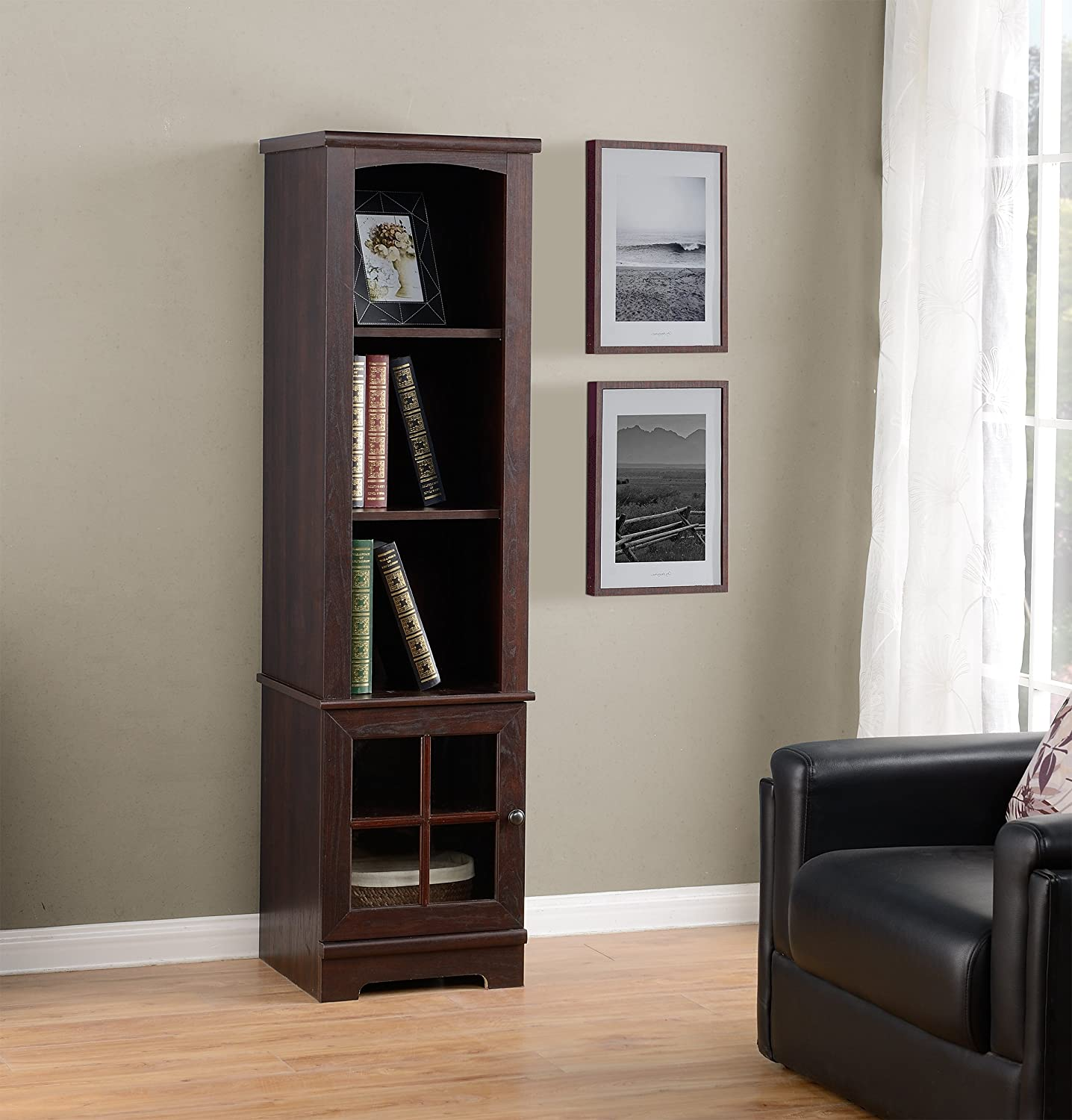 Amazon Homestar Z D Zarate Bookcase Media Storage Pier