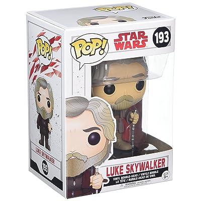 Funko POP! Star Wars: The Last Jedi - Luke Skywalker - Collectible Figure: Funko Pop! Star Wars:: Toys & Games