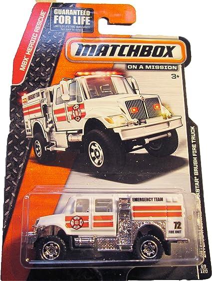 Matchbox International Workstar Brush Fire Truck