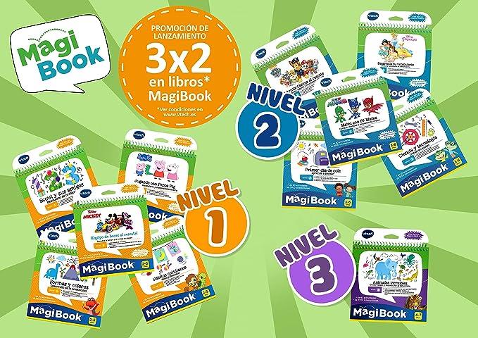 VTech - Libro Aprende Formas y Colores, desarrolla la creatividad (3480-480522): Amazon.es: Juguetes y juegos