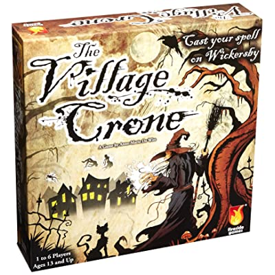 Fireside Games Village Crone Board Game - Board Games for Adults: Toys & Games