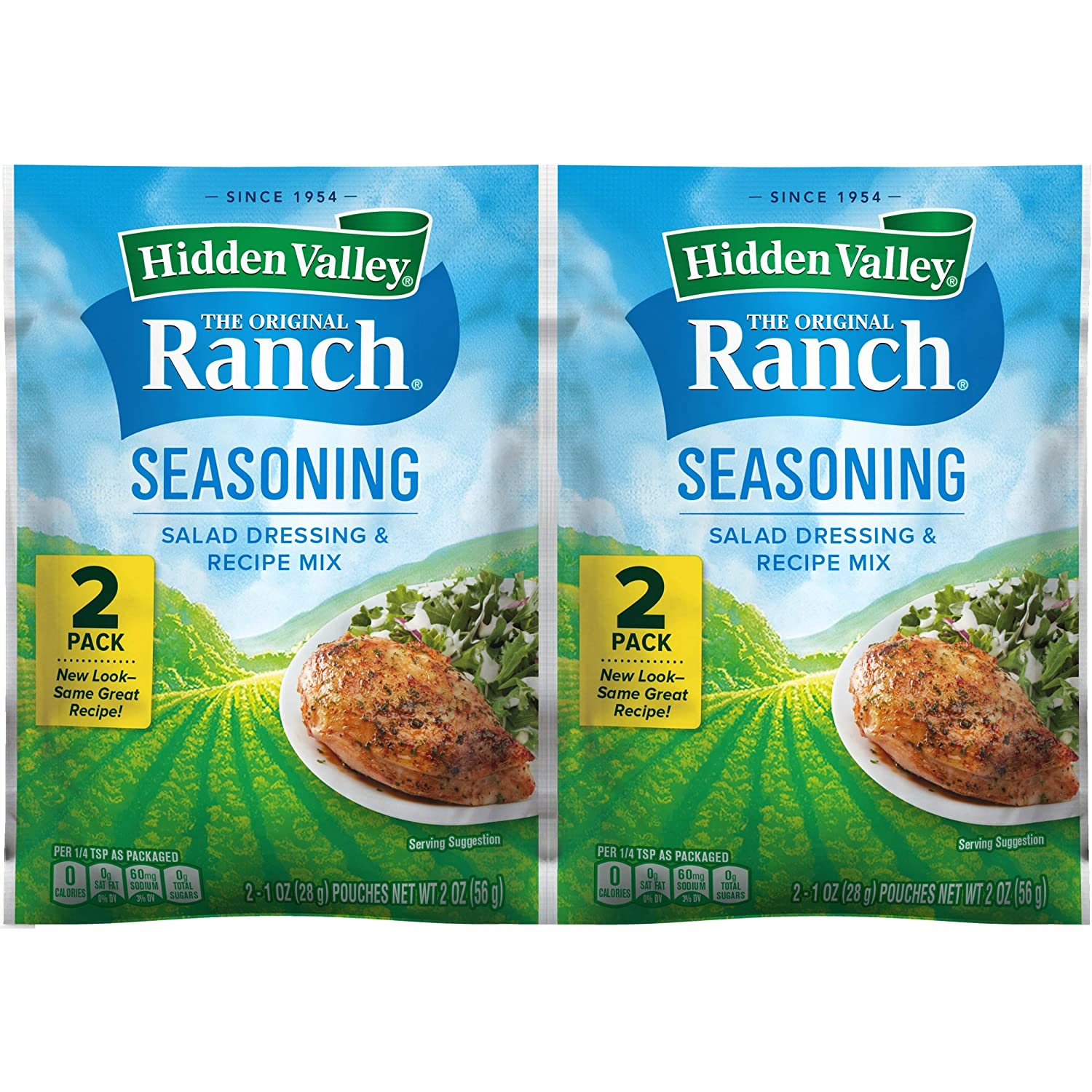 Hidden Valley The Original Ranch Salad Dressing & Recipe Seasoning Mix - 2 Pouches