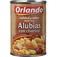 Orlando Alubias Con Chorizo, Platos Preparados - 425