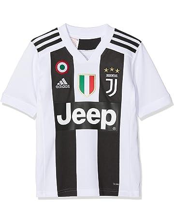 34b79c3cf2 adidas Juve H JSY Y, Maglia Gara Home 2018/2019 Cristiano Ronaldo, Bambino