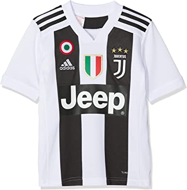 adidas Juve H JSY Y Camiseta Gara Home 2018/2019 Cristiano Ronaldo ...