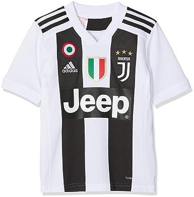 info for dde65 2d2b1 adidas Juve H JSY Y, Maglia Gara Home 2018/2019 Cristiano Ronaldo, Bambino