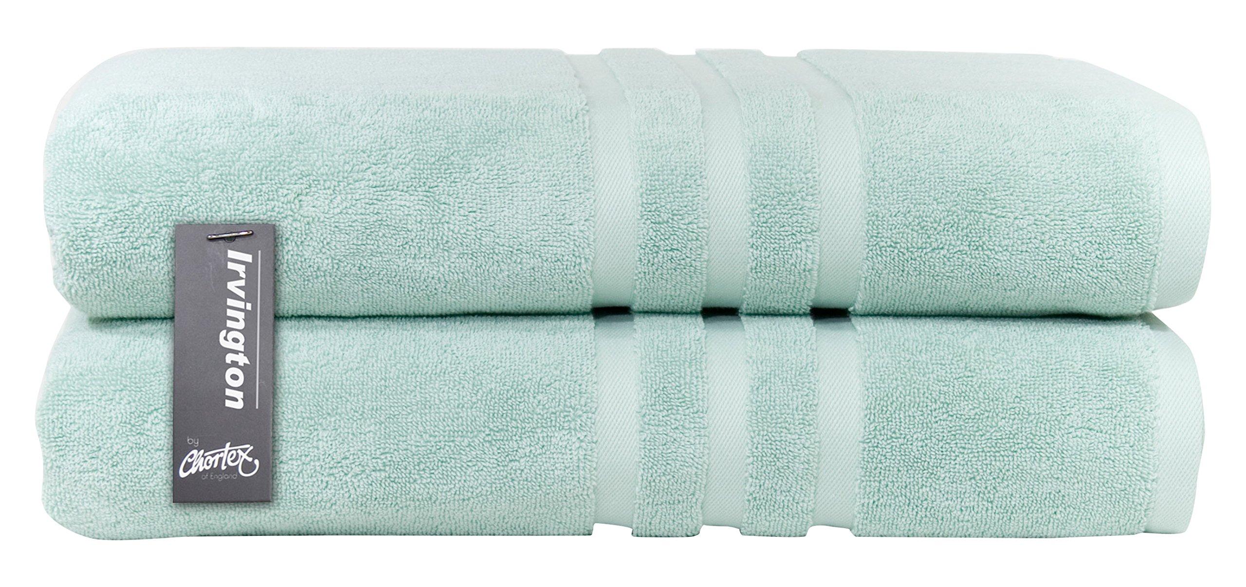 Chortex Luxury Turkish Cotton Bath Sheet (2 Pack), Pack of 2, Mineral