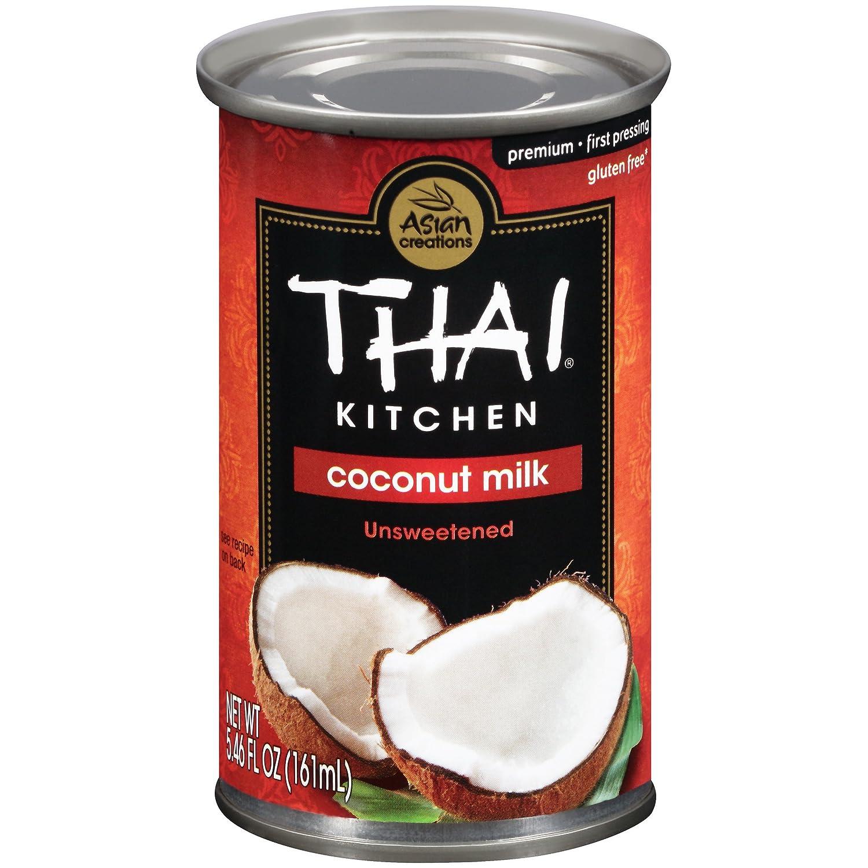 B0072DGEJO Thai Kitchen Coconut Milk, 5.46 fl oz (Pack of 24) 91gemioeuML