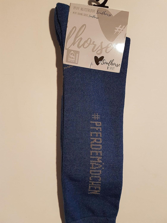 Pfiff–Calcetines de equitación, diseño Soul Horse Caballo Chica