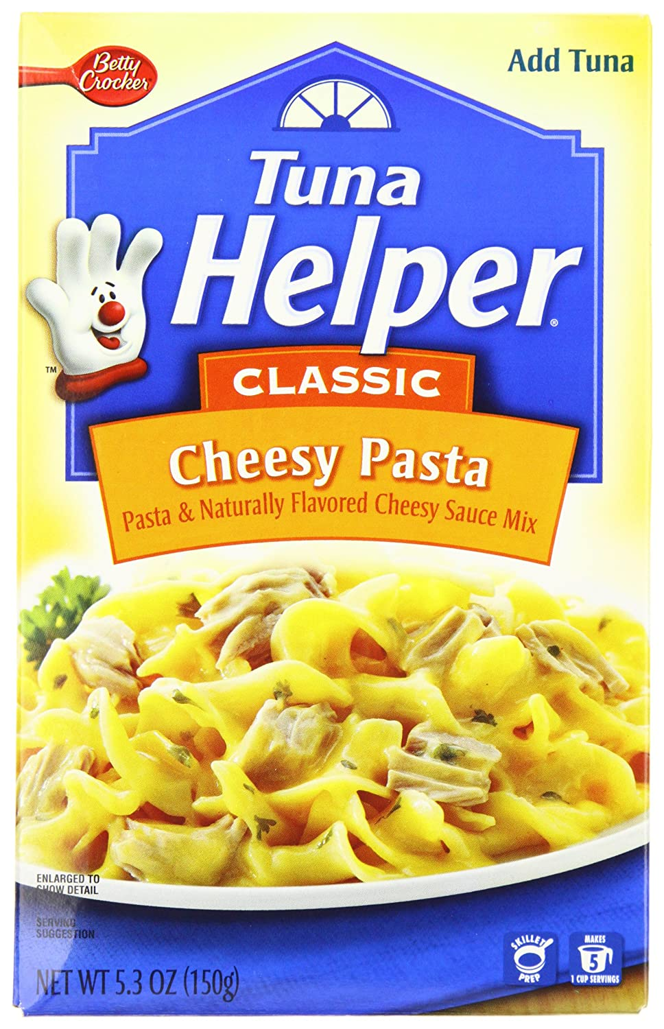 Amazon.com : Tuna Helper Cheesy Pasta 5.3 oz : Packaged Pasta Dinner Kits : Grocery & Gourmet Food