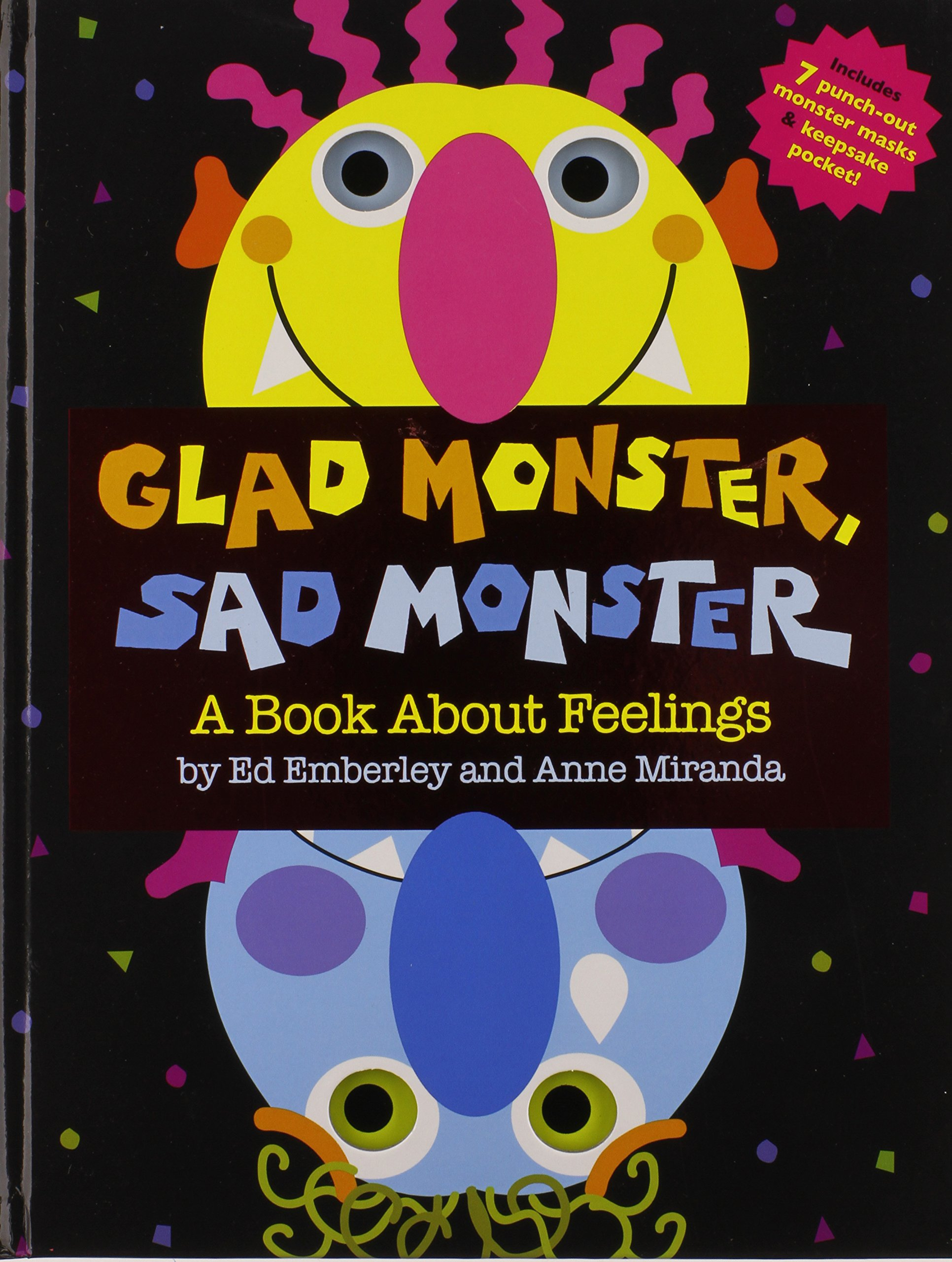 Image result for glad monster, sad monster